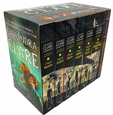 Cassandra Clare The Mortal Instruments: A Shadowhunters Collection 7 Book Set by Cassandra Clare