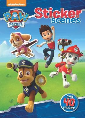 Nickelodeon PAW Patrol Sticker Scenes by Parragon Books Ltd