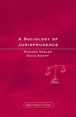 Sociology of Jurisprudence book