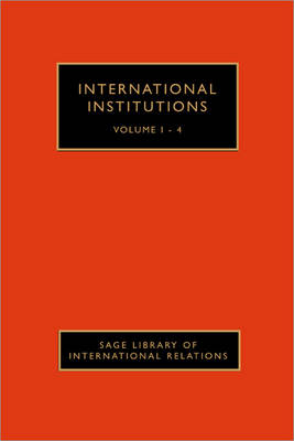 International Institutions by Judith Goldstein