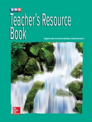 Corrective Reading Comprehension Level C, National Teacher Resource Book book