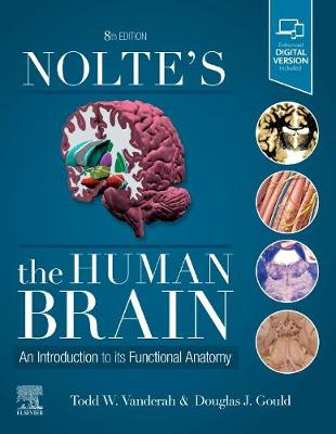 Nolte's The Human Brain: An Introduction to its Functional Anatomy by Todd Vanderah