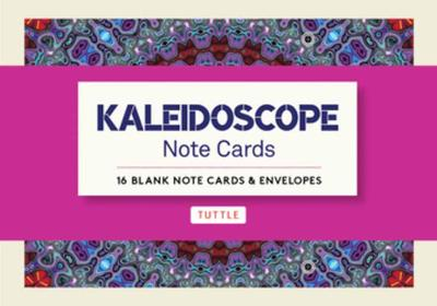 Kaleidoscope, 16 Note Cards: 16 Different Blank Cards with 17 Patterned Envelopes book