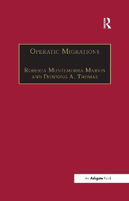 Operatic Migrations book