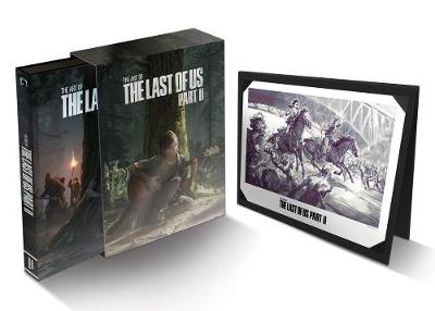 The Art Of The Last Of Us Part Ii Deluxe Edition by Naughty Dog Naughty Dog