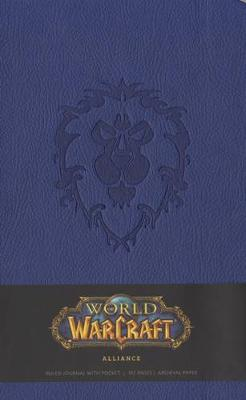 World Of Warcraft Alliance Hardcover Ruled Journal (Large) book