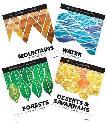 Australian Landscapes: 4 Book Paperback Pack by Rachel Dixon