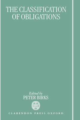 Classification of Obligations by Peter Birks