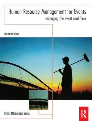 Human Resource Management for Events book