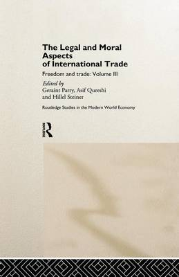 Legal and Moral Aspects of International Trade book