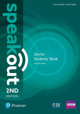 Speakout Starter 2nd Edition Students' Book and DVD-ROM Pack by Frances Eales