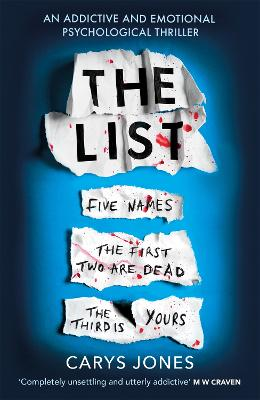 The List: 'A terrifyingly twisted and devious story' that will take your breath away by Carys Jones