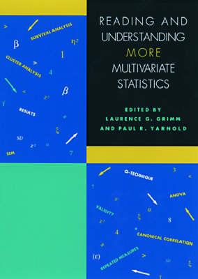 Reading and Understanding MORE Multivariate Statistics book