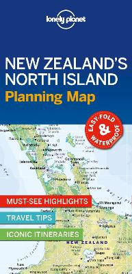Lonely Planet New Zealand's North Island Planning Map by Lonely Planet