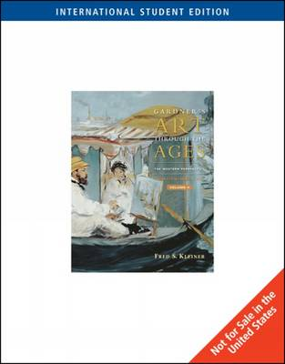Gardner's Art through the Ages: The Western Perspective, Volume II, International Edition by Fred Kleiner