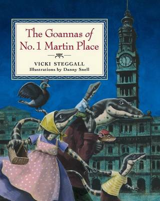 The Goannas of No. 1 Martin Place by Vicki Steggall