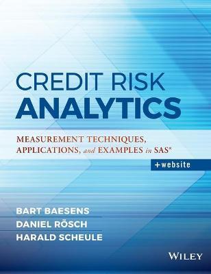 Credit Risk Analytics by Bart Baesens
