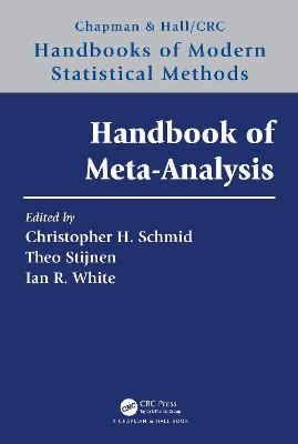 Handbook of Meta-Analysis by Christopher H. Schmid