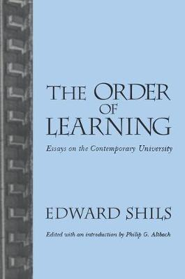 Order of Learning by Edward Shils
