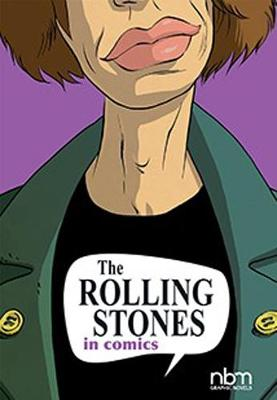 The Rolling Stones In Comics by Ceka