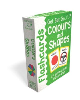 Get Set Go: Flashcards - Colours and Shapes book