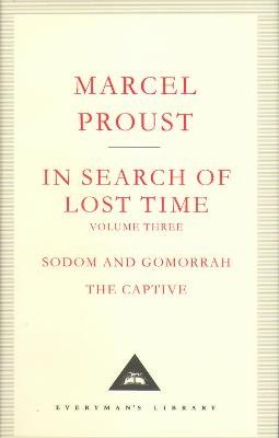 In Search Of Lost Time Volume 3 by Marcel Proust
