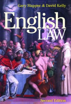 English Law by Gary Slapper