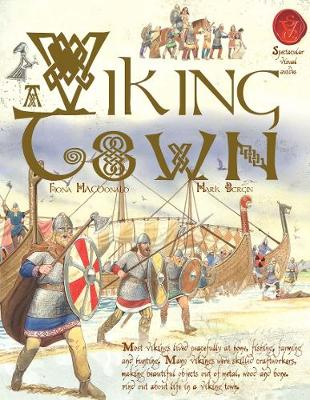 Viking Town by Fiona MacDonald