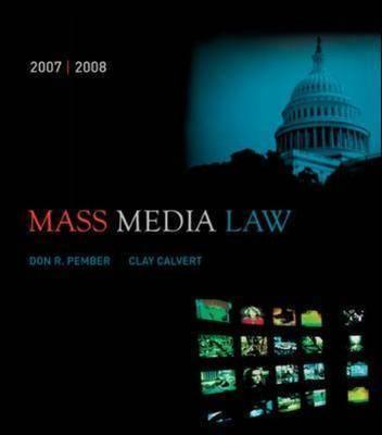 Mass Media Law by Clay Calvert