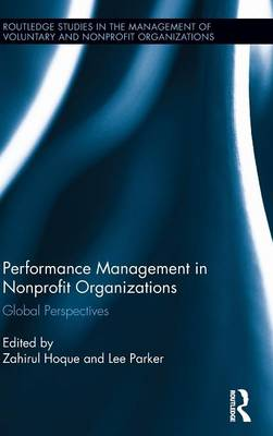Performance Management in Nonprofit Organizations by Zahirul Hoque