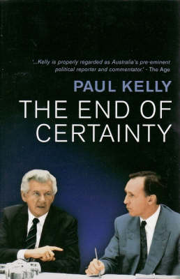 End of Certainty book