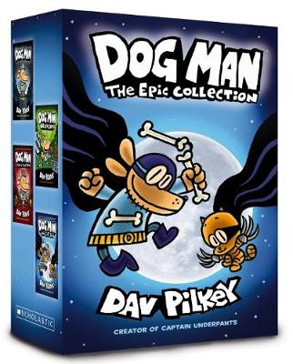 DOG MAN EPIC COLLECTION 1-4 book