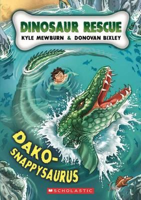 Dako-snappysaurus by Kyle Mewburn