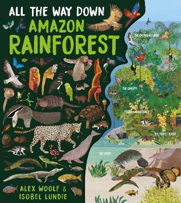 All The Way Down: Amazon Rainforest by Alex Woolf