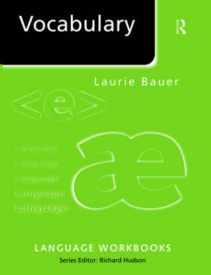 Vocabulary by Laurie Bauer