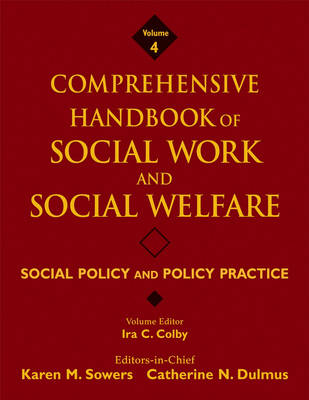 Comprehensive Handbook of Social Work and Social Welfare by Karen Sowers