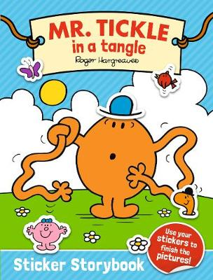 Mr. Tickle in a tangle Sticker Storybook by Adam Hargreaves