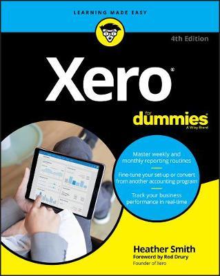 Xero For Dummies by Heather Smith