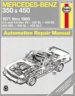 Mercedes-Benz 350 and 450 V8's 1971-80 Owner's Workshop Manual by J. H. Haynes