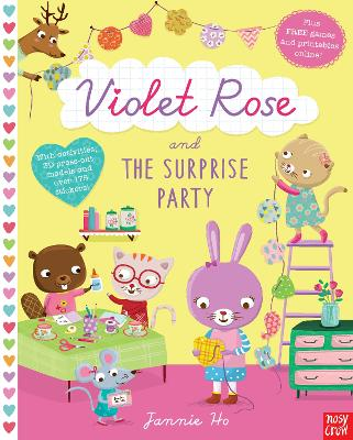 Violet Rose and the Surprise Party Sticker Activity Book book