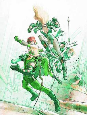 Green Arrow Black Canary Five Stages TP by Andrew Kreisberg