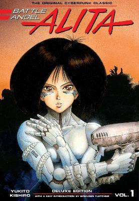 Battle Angel Alita Deluxe Edition 1 book