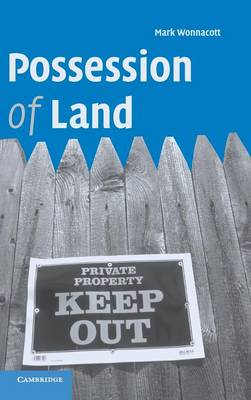 Possession of Land book