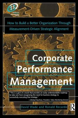 Corporate Performance Management by David Wade