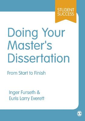 Doing Your Master's Dissertation book
