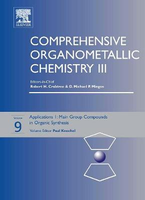 Comprehensive Organometallic Chemistry III by Professor Paul Knochel