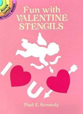 Fun Valentine Stencils book