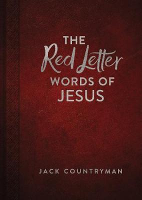 Red Letter Words of Jesus by Jack Countryman