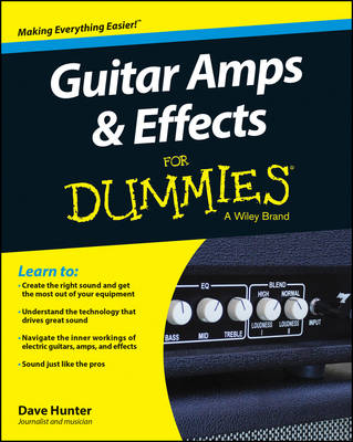 Guitar Amps & Effects for Dummies by Dave Hunter