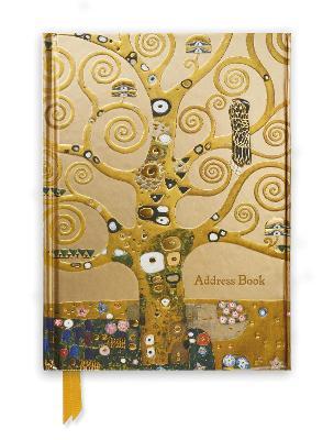 Klimt: Tree of Life (Address Book) by Flame Tree Studio